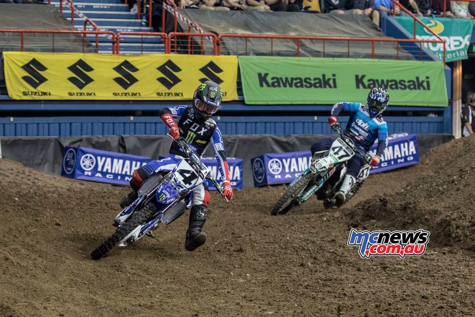 Australian Supercross Rnd Brisbane LukeCloutLead