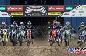 Australian Supercross Rnd Brisbane SX Start Cover