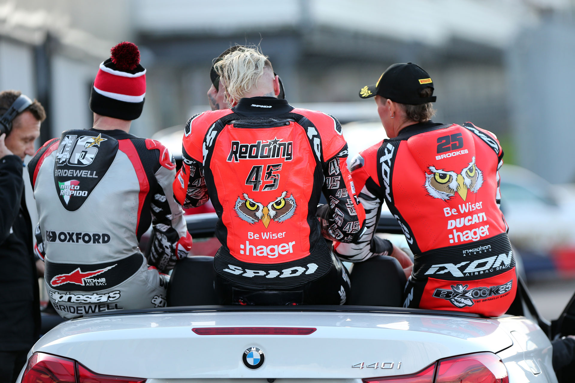BSB Rnd Donington DYeomans Bridwell Redding Brookes AUYA