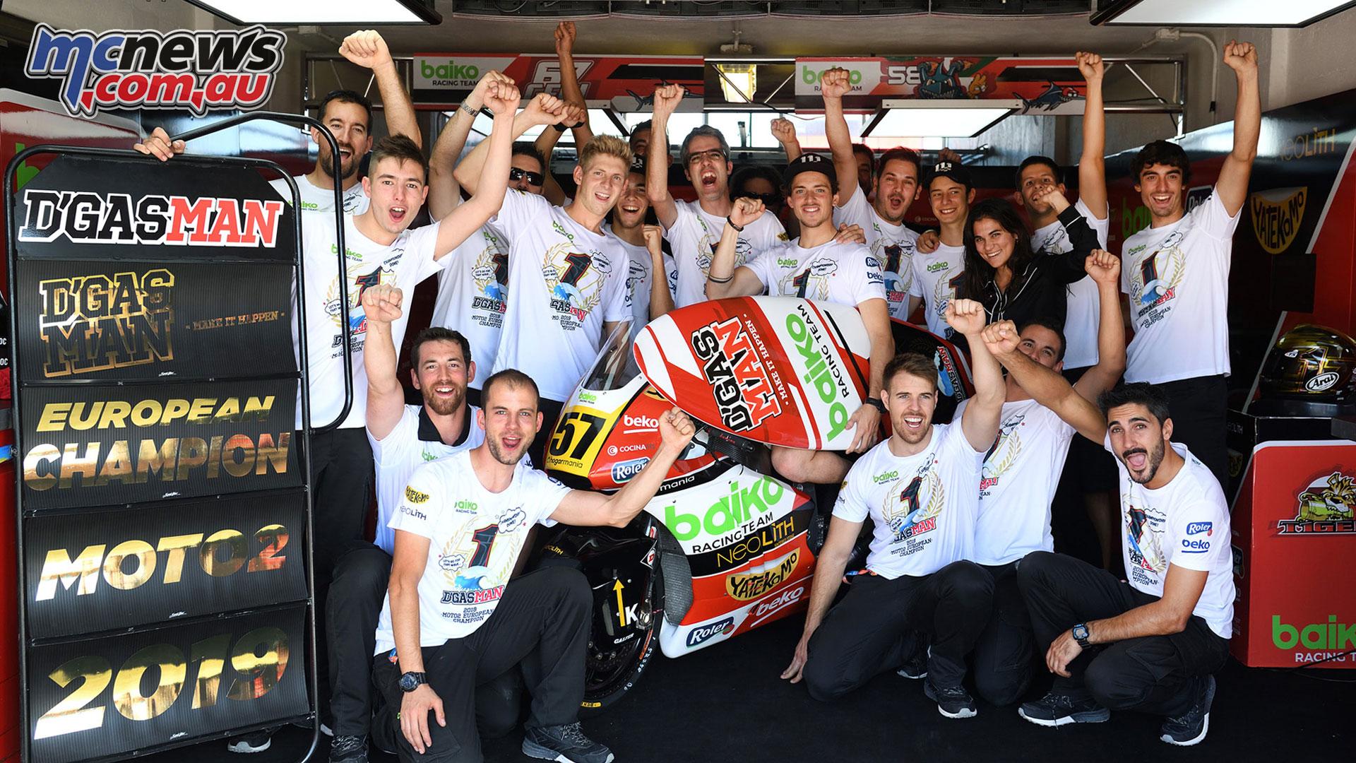 FIM CEV Repsol Rnd Albacete Edgar Pons Moto Champion