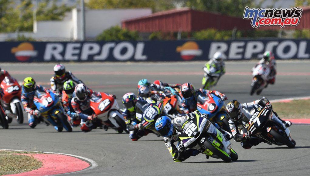 FIM CEV Repsol Rnd Albacete Moto Start