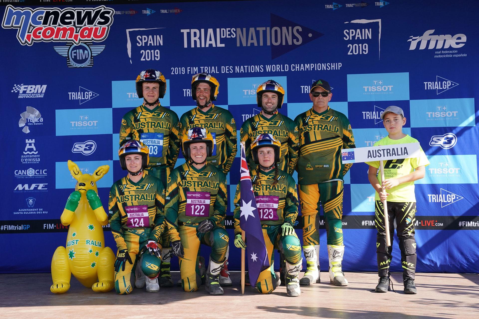 FIM Trial Des Nations TdN Team Australia imgPepSegalesFIM