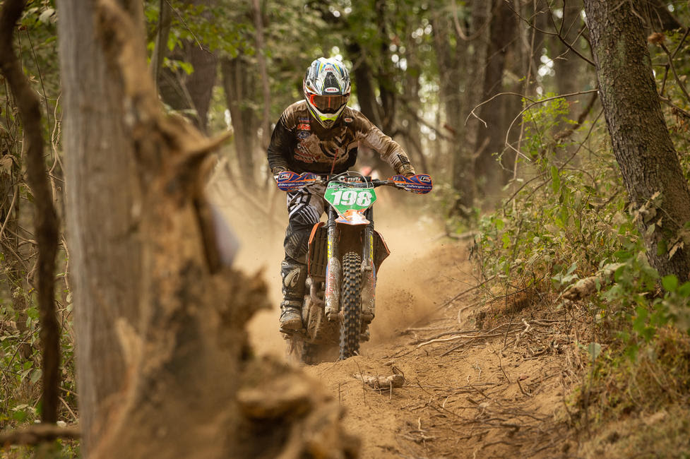 GNCC Rnd Mason Dixon Mount Morris Liam Draper XC Pro class win KH