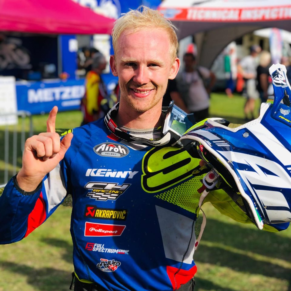 Hamish MacDonald World Enduro Champion