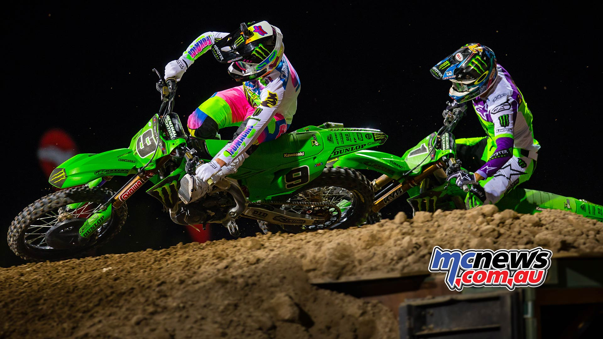Monster Energy Cup Cianciarulo Tomac Multiple JK MEC