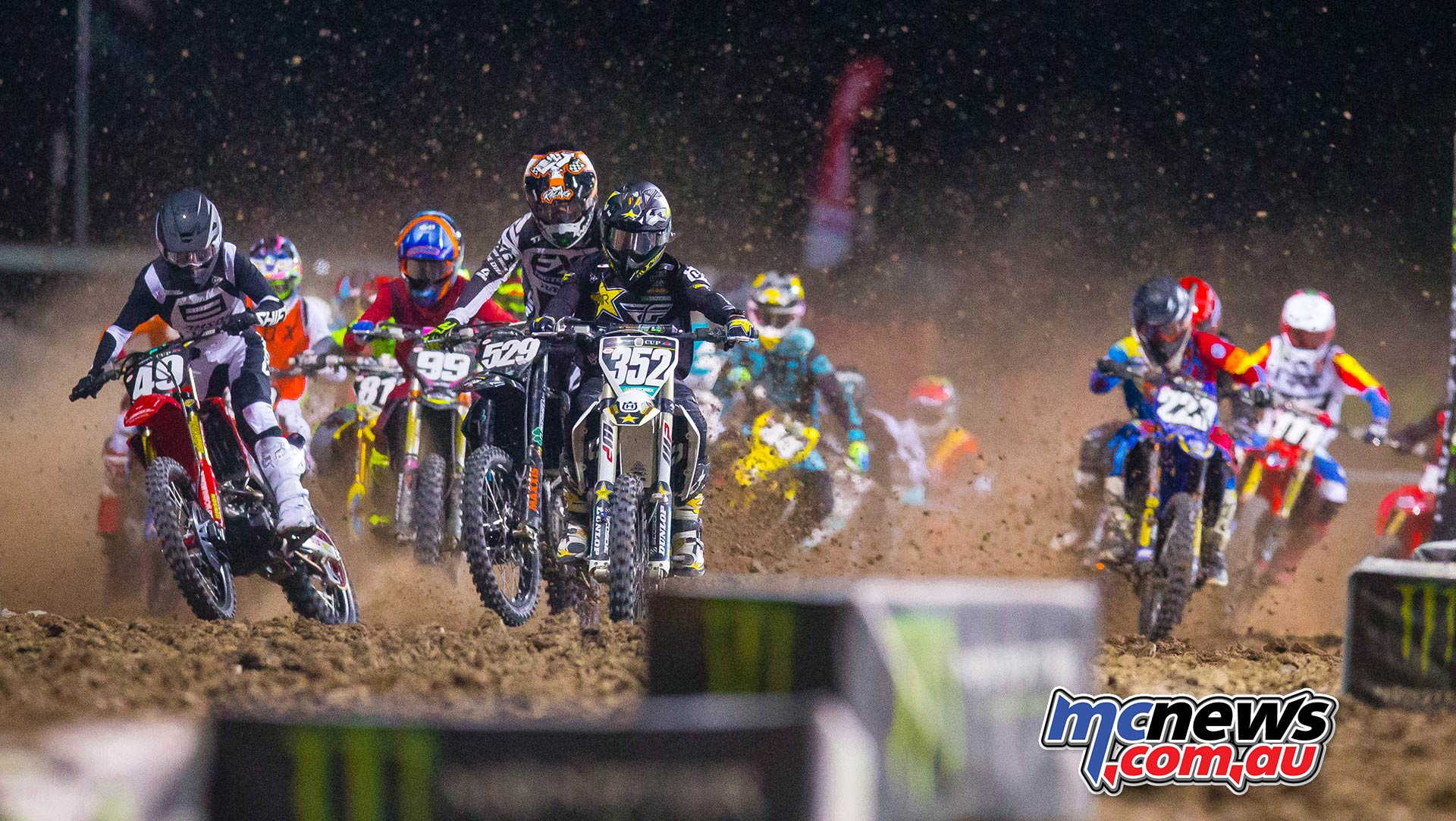Monster Energy Cup Futures Starts Lawrence JK MEC