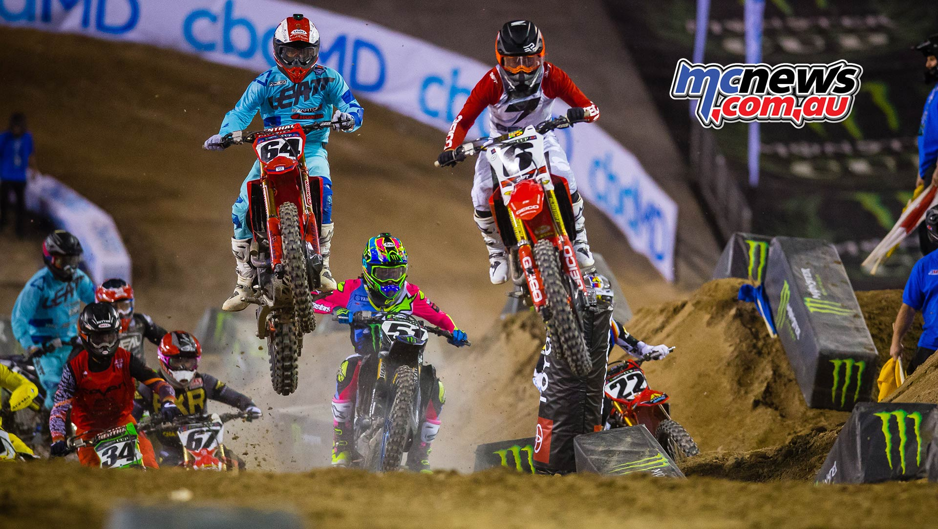 Monster Energy Cup Jeremy Martin Friese Starts JK MEC CoverB