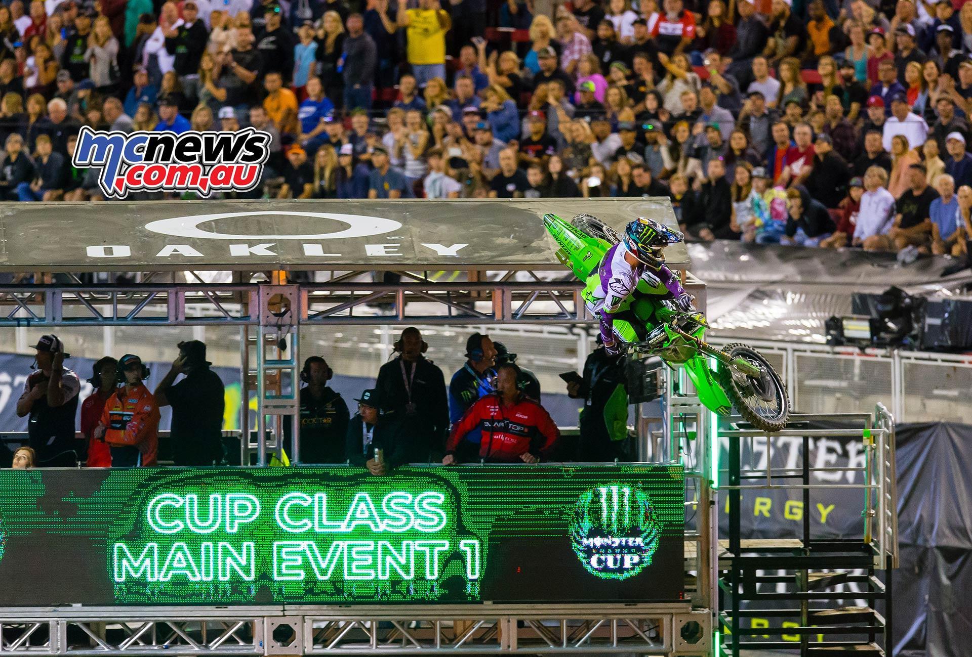 Monster Energy Cup Main Tomac JK MEC