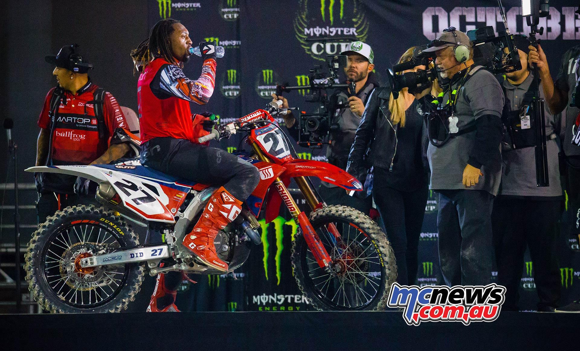 Monster Energy Cup StewartM JK MEC