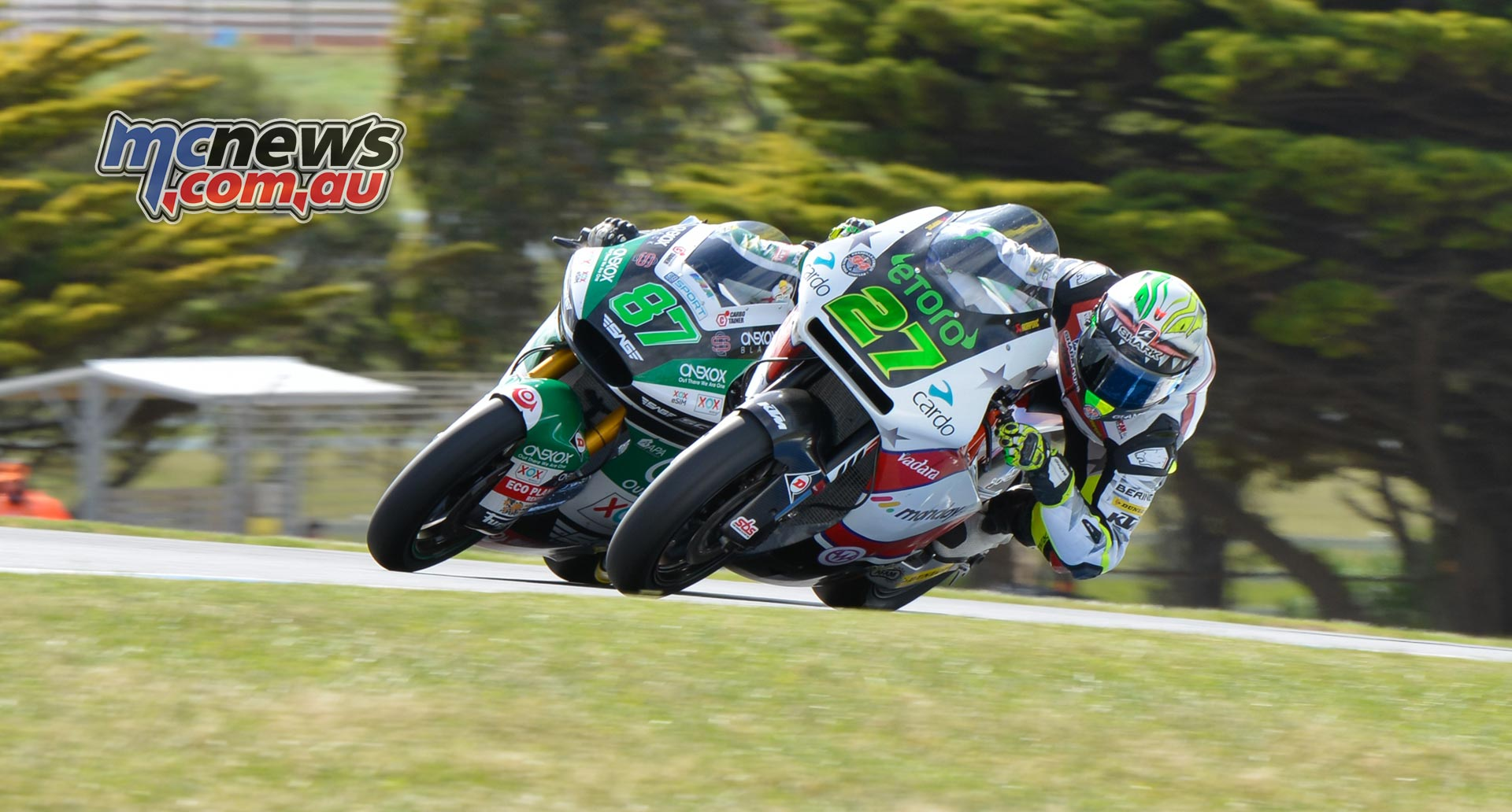 MotoGP Australia Phillip Island CRW Sat Moto Gardner Bezzechi