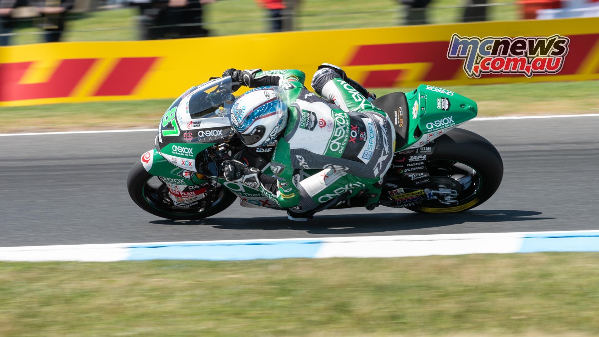 MotoGP Australia Phillip Island RbMotoLens Moto FP Remy GARDNER