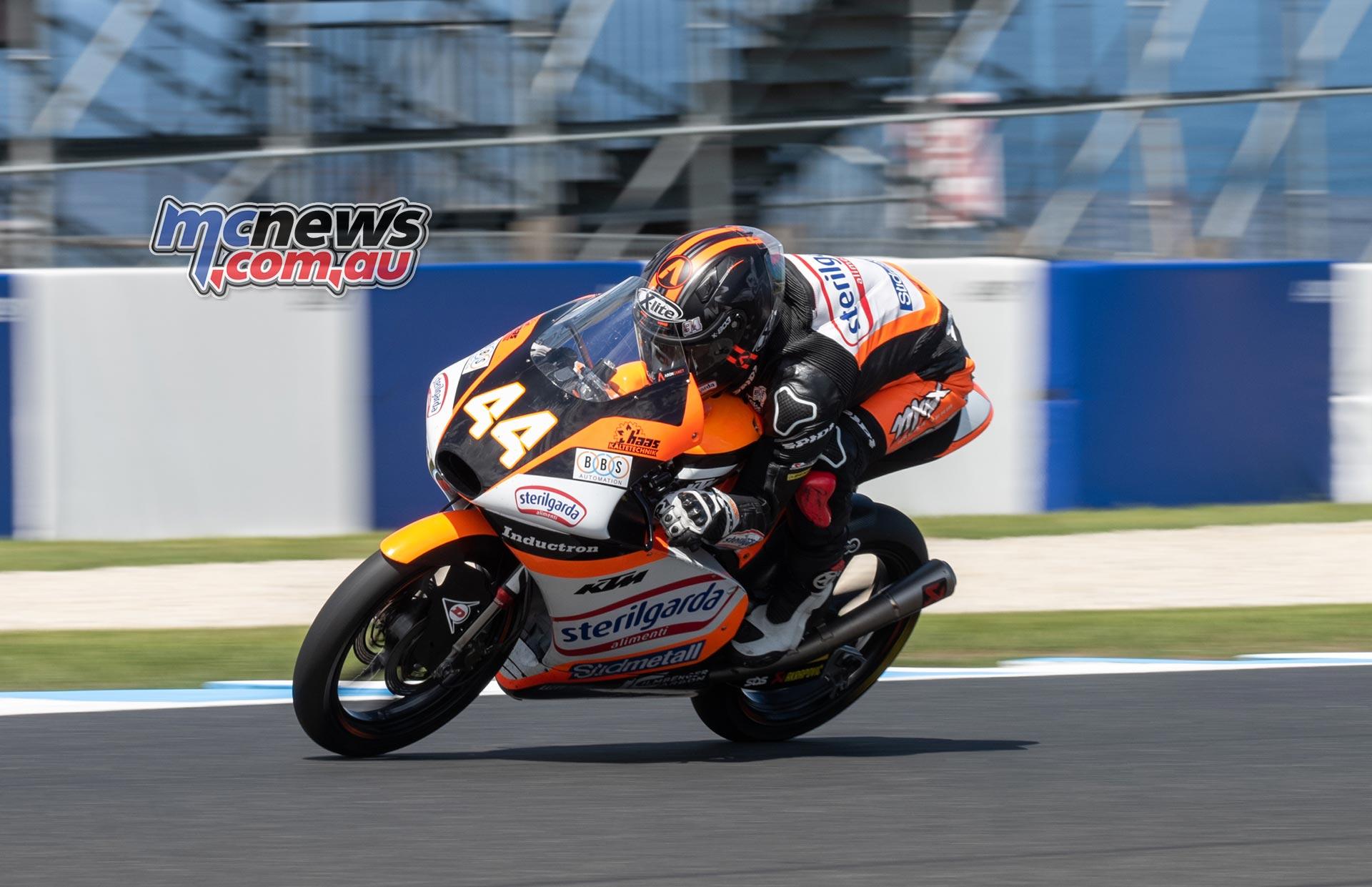 MotoGP Australia Phillip Island RbMotoLens Moto FP A Canet