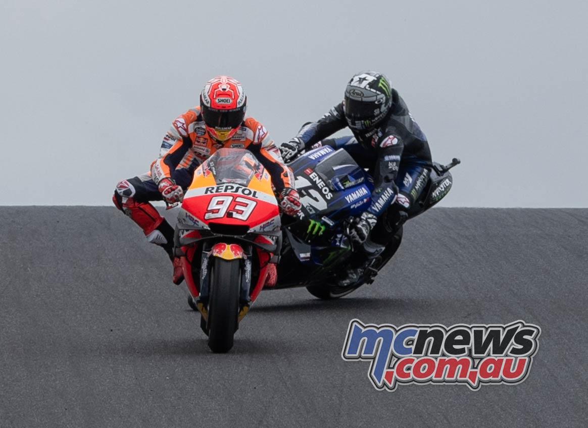 MotoGP Australia Phillip Island RbMotoLens MotoGP Race Maverick Crash