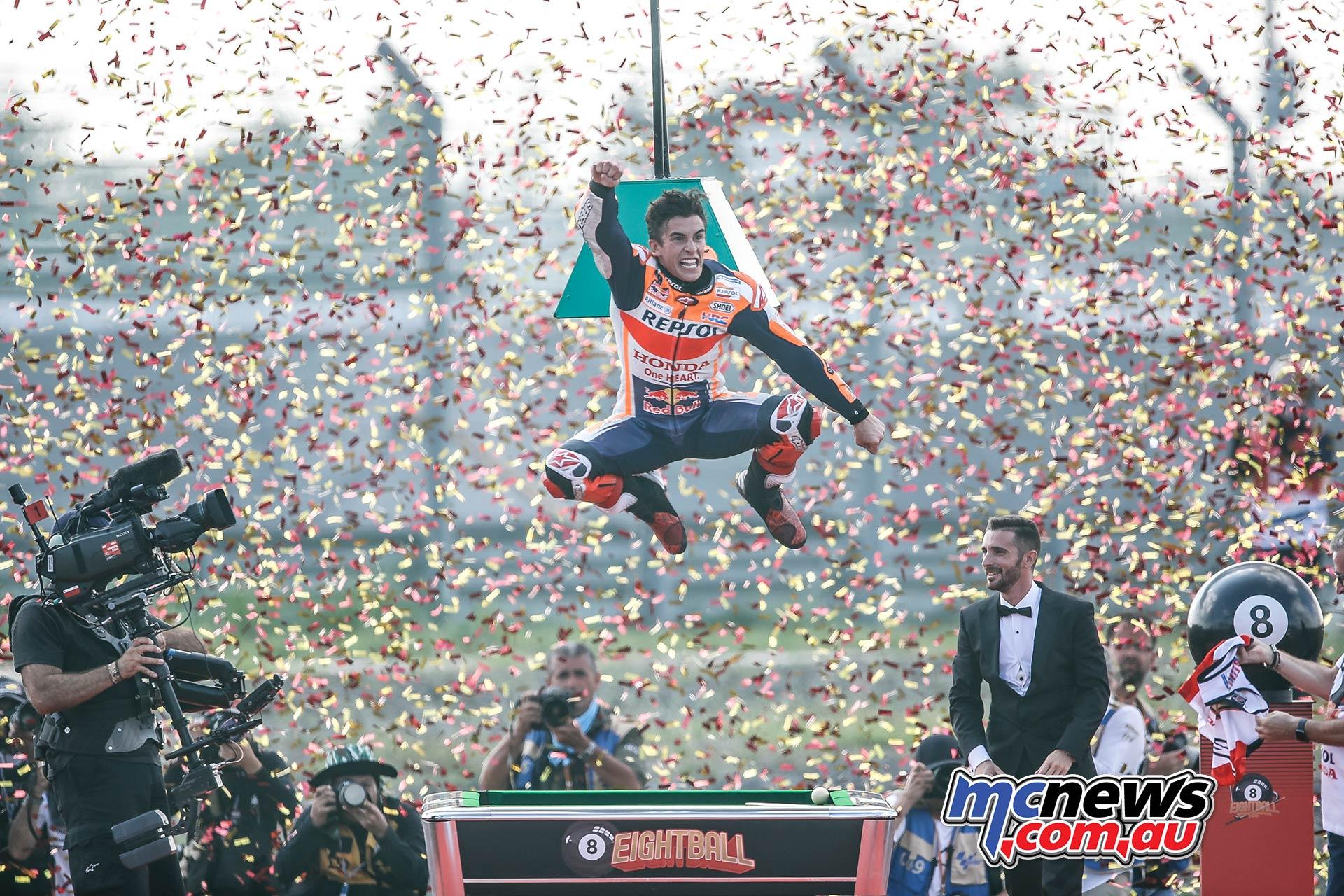 MotoGP Champion Thailand Marc Marquez