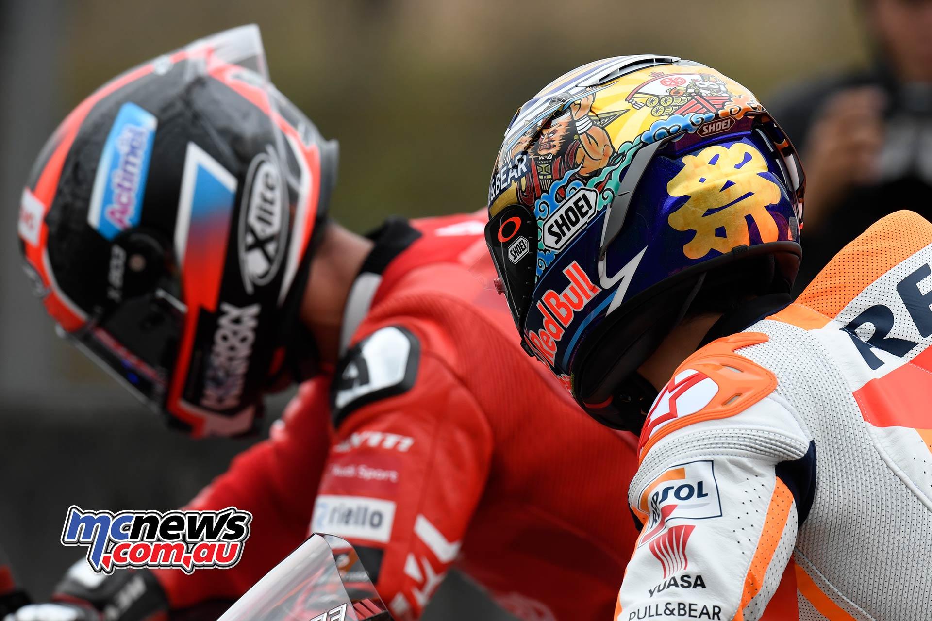 MotoGP Motegi FP Marquez Shoei