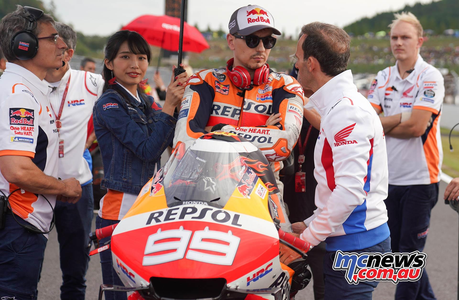 MotoGP Motegi Honda Lorenzo Puig
