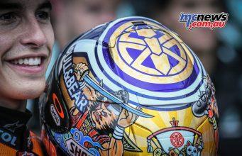 MotoGP Motegi Marquez Shoei