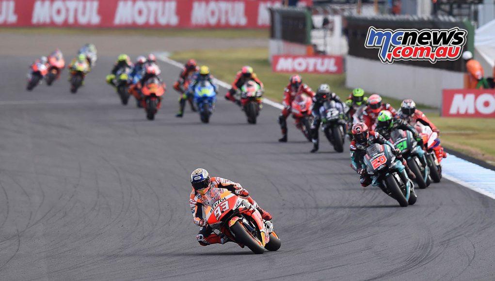 MotoGP Motegi Marquez Start