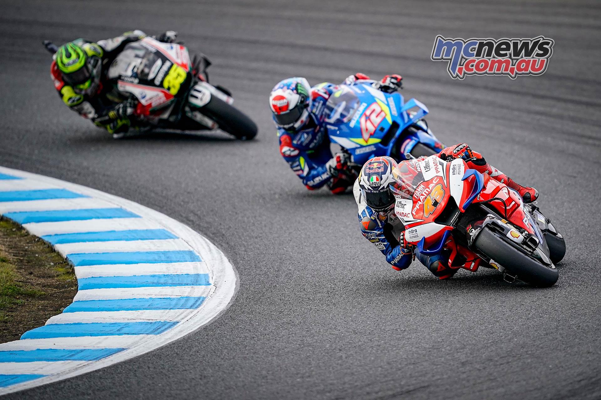 MotoGP Motegi Miller Rins Crutchlow