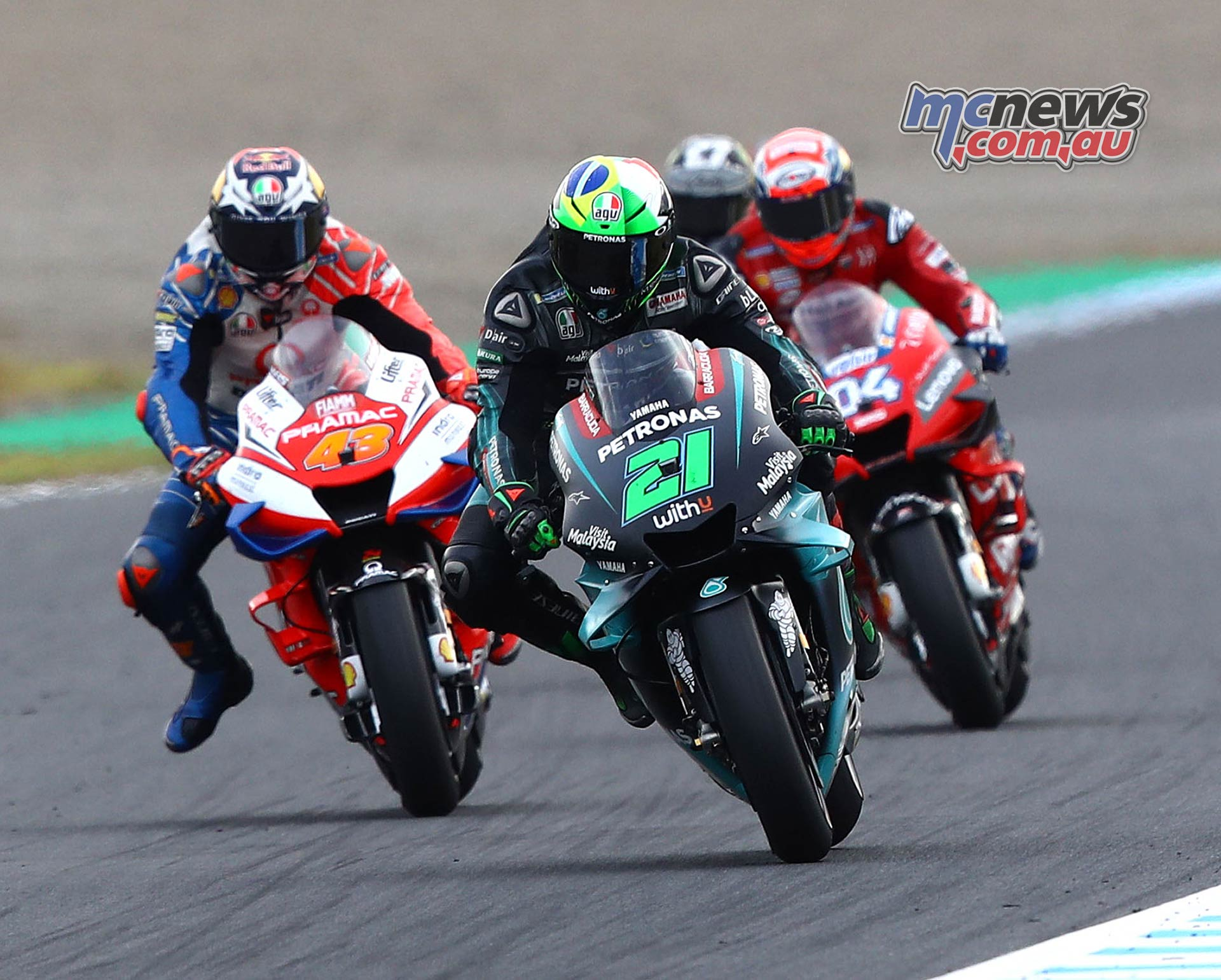 MotoGP Motegi Morbidelli Miller Dovi