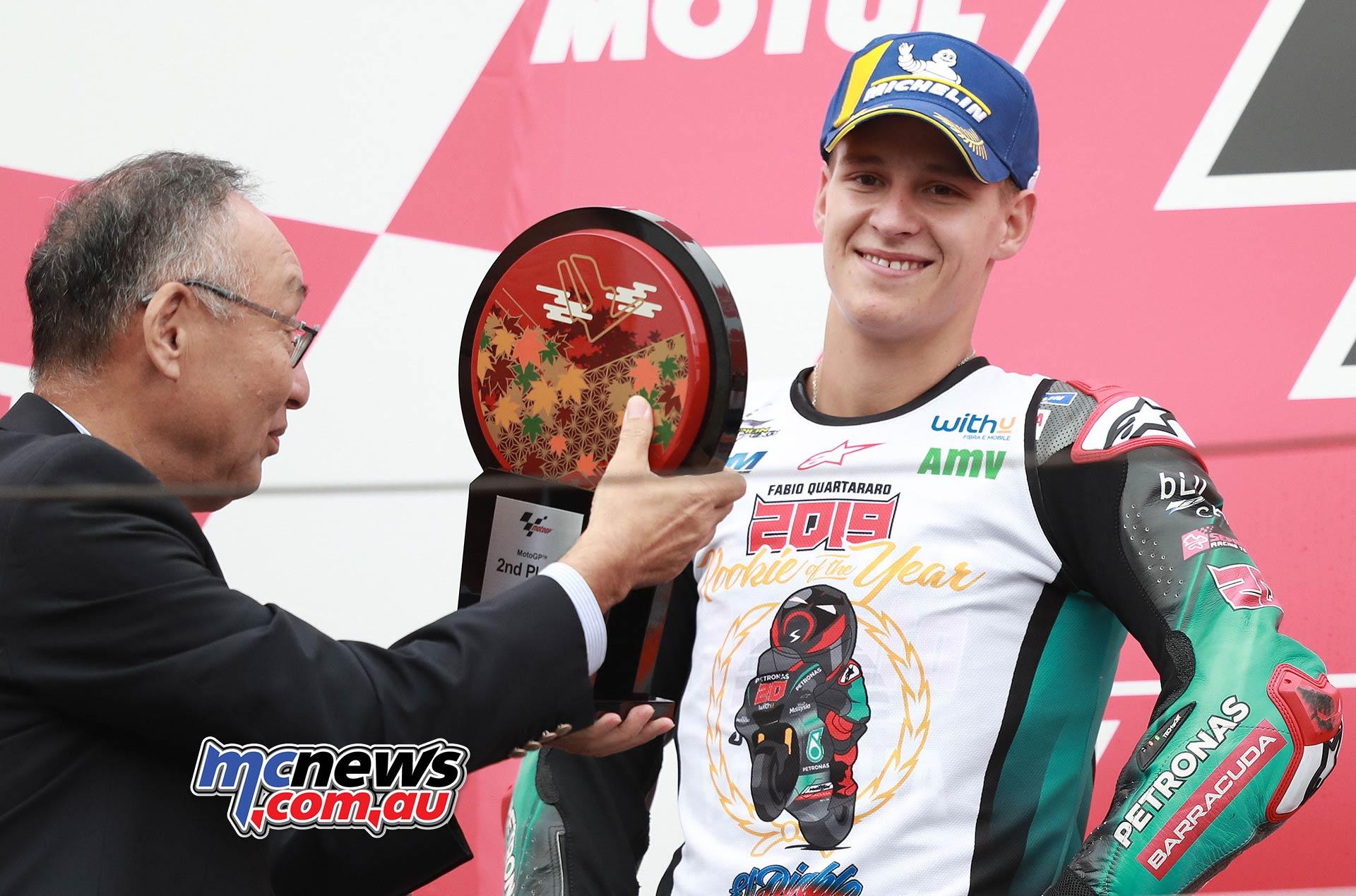 MotoGP Motegi Quartararo Rookies