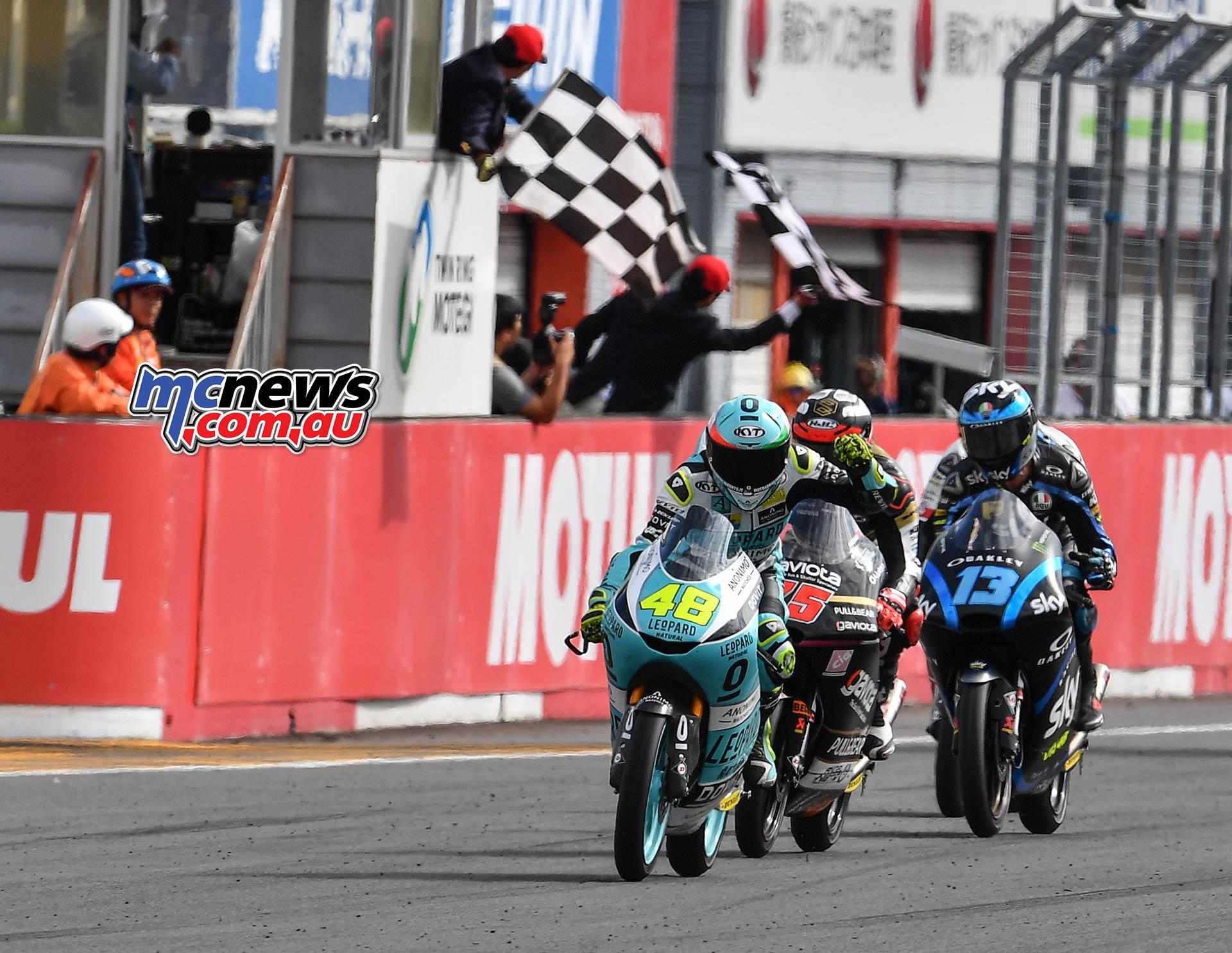 MotoGP Motegi Race Moto Flag DallaPorta