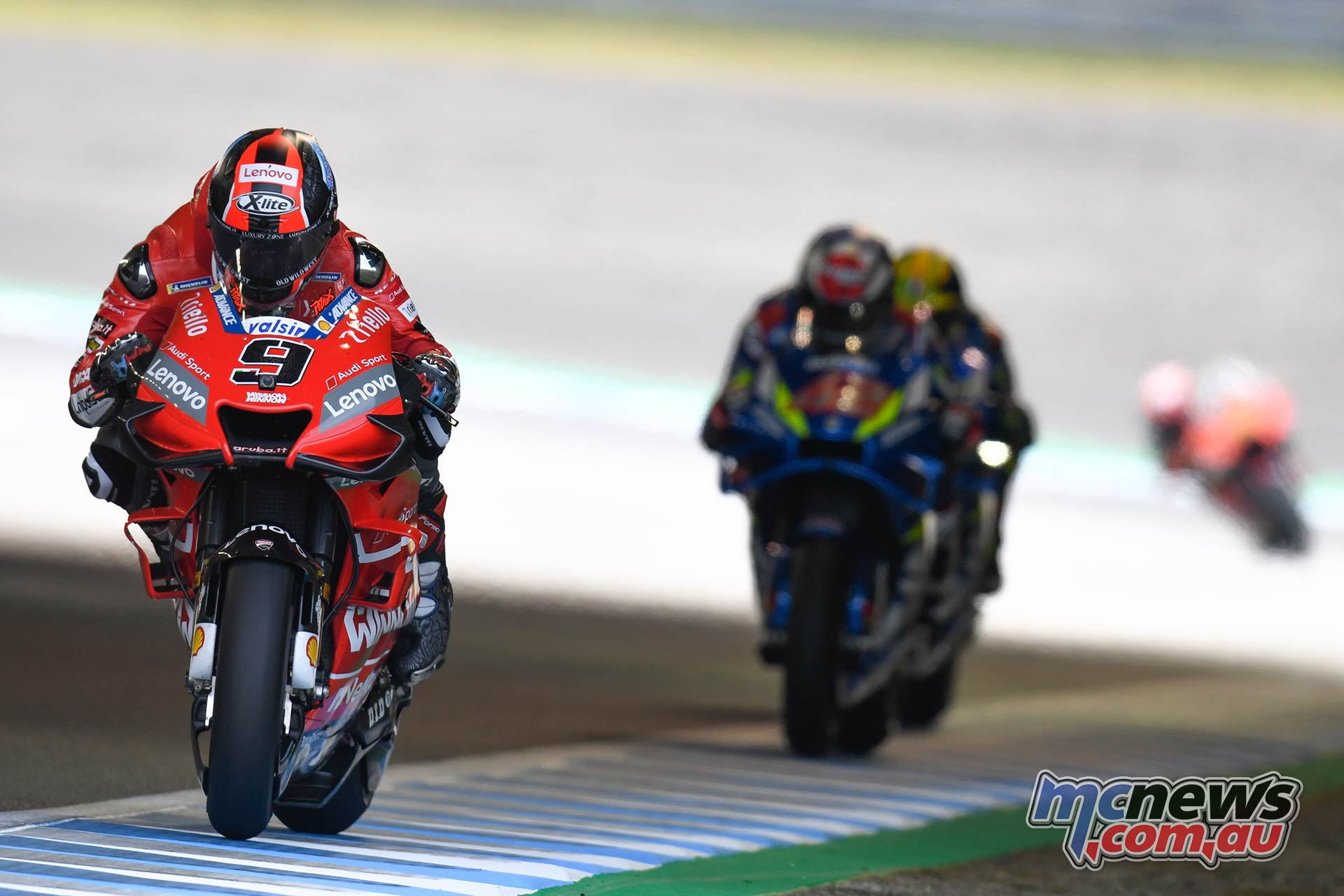 MotoGP Motegi Race Petrucci Rins