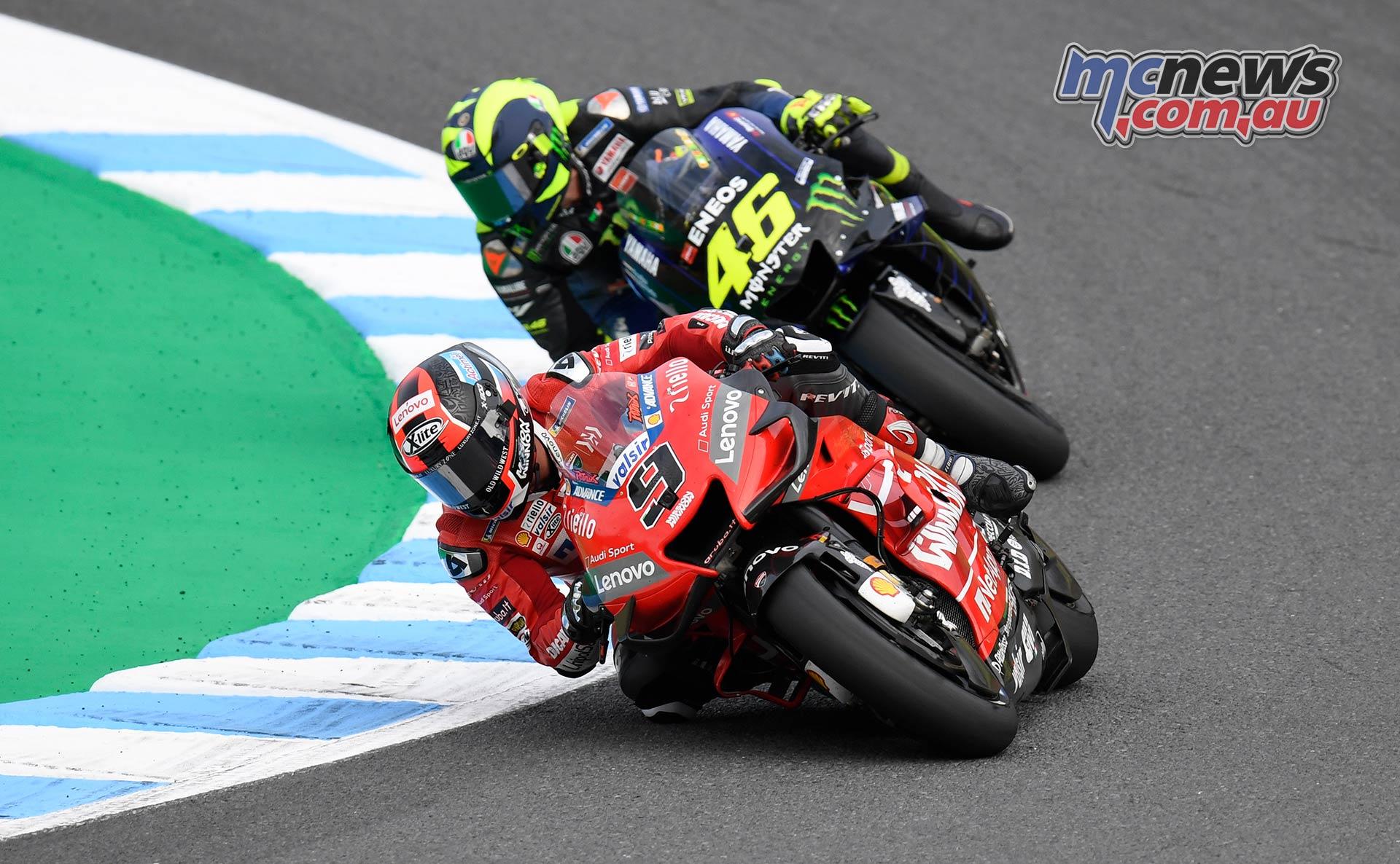 MotoGP Motegi Race Petrucci Rossi
