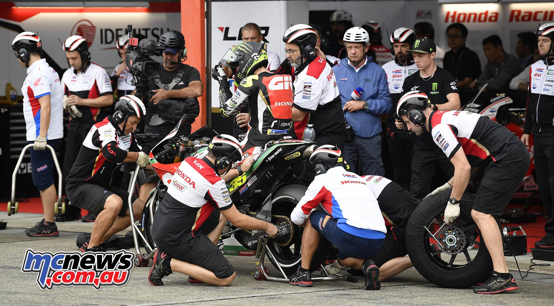 MotoGP Motegi Sat Crutchlow