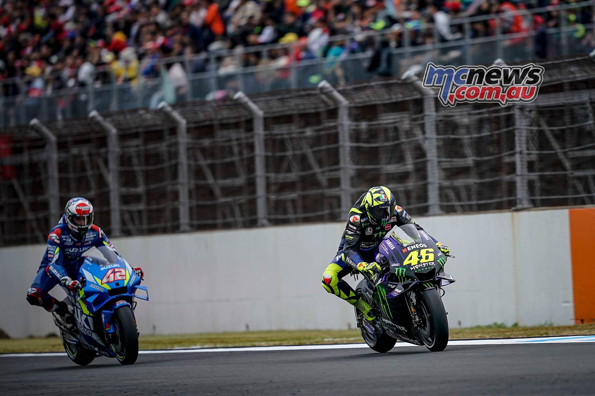 MotoGP Motegi Sat Rossi Rins