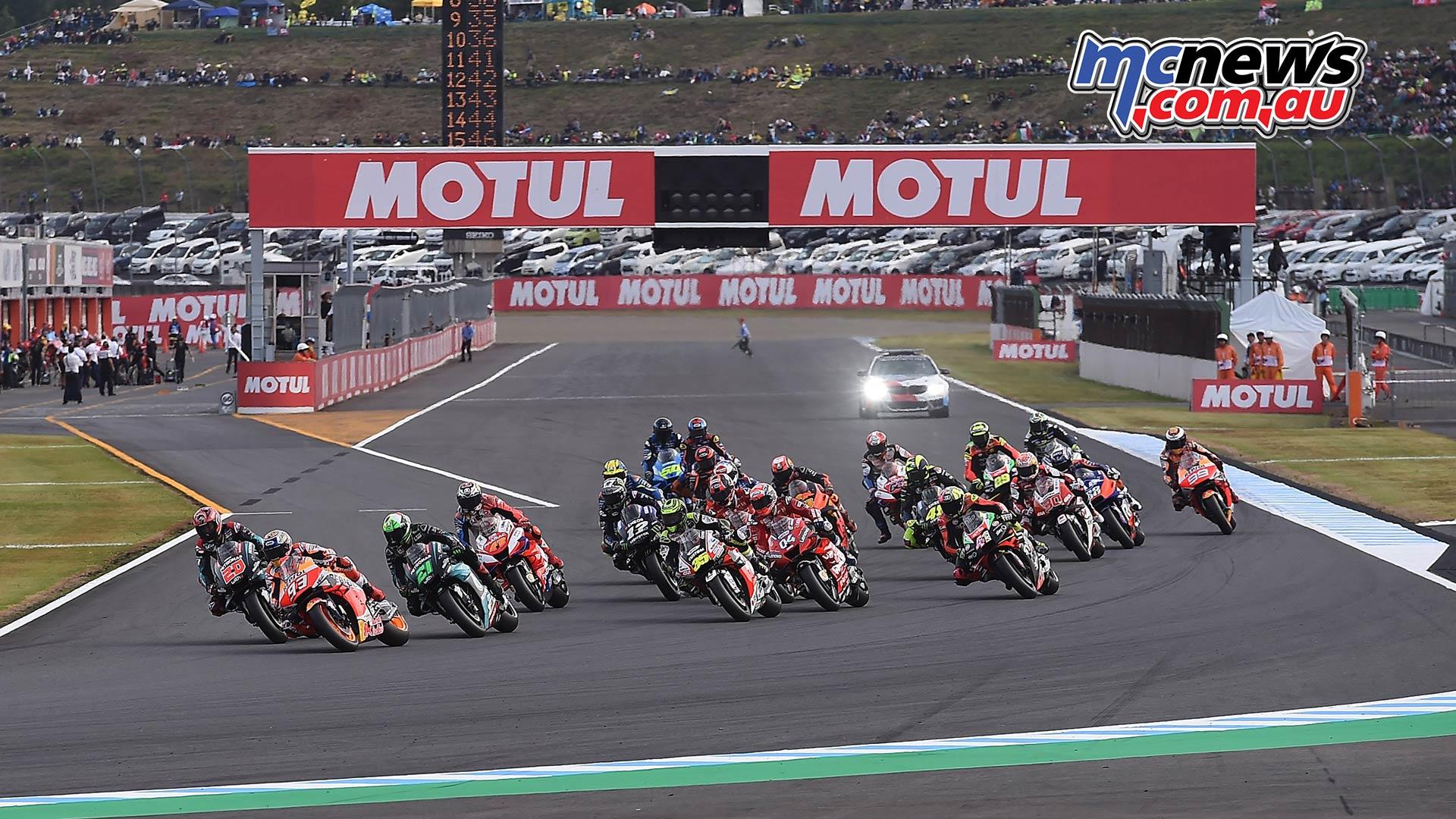 MotoGP Motegi Start