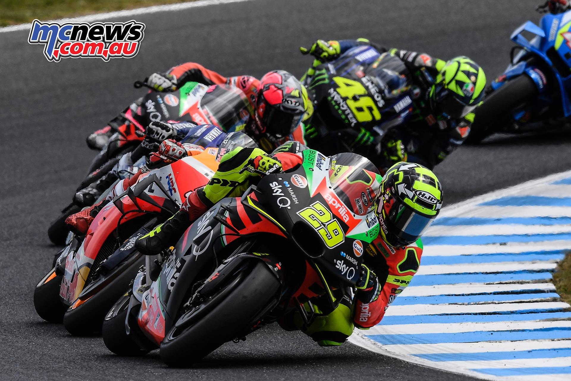 MotoGP Phillip Island Australia Race Andrea Iannone