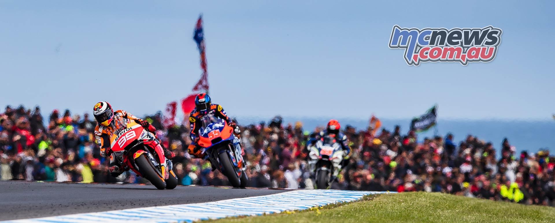 MotoGP Phillip Island Australia Race Lorenzo Syahrin