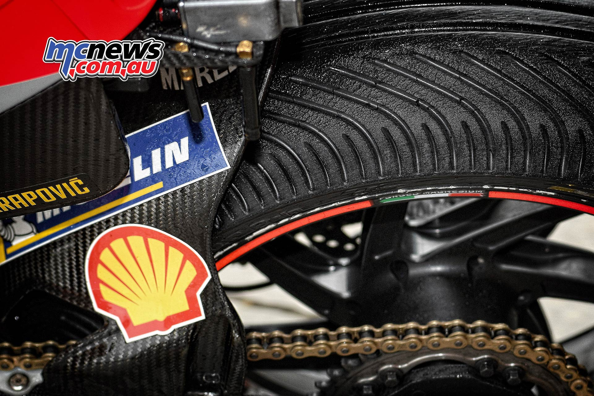 MotoGP Phillip Island Australia Race Michelin Wets