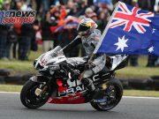 MotoGP Phillip Island Australia Race Miller Flag