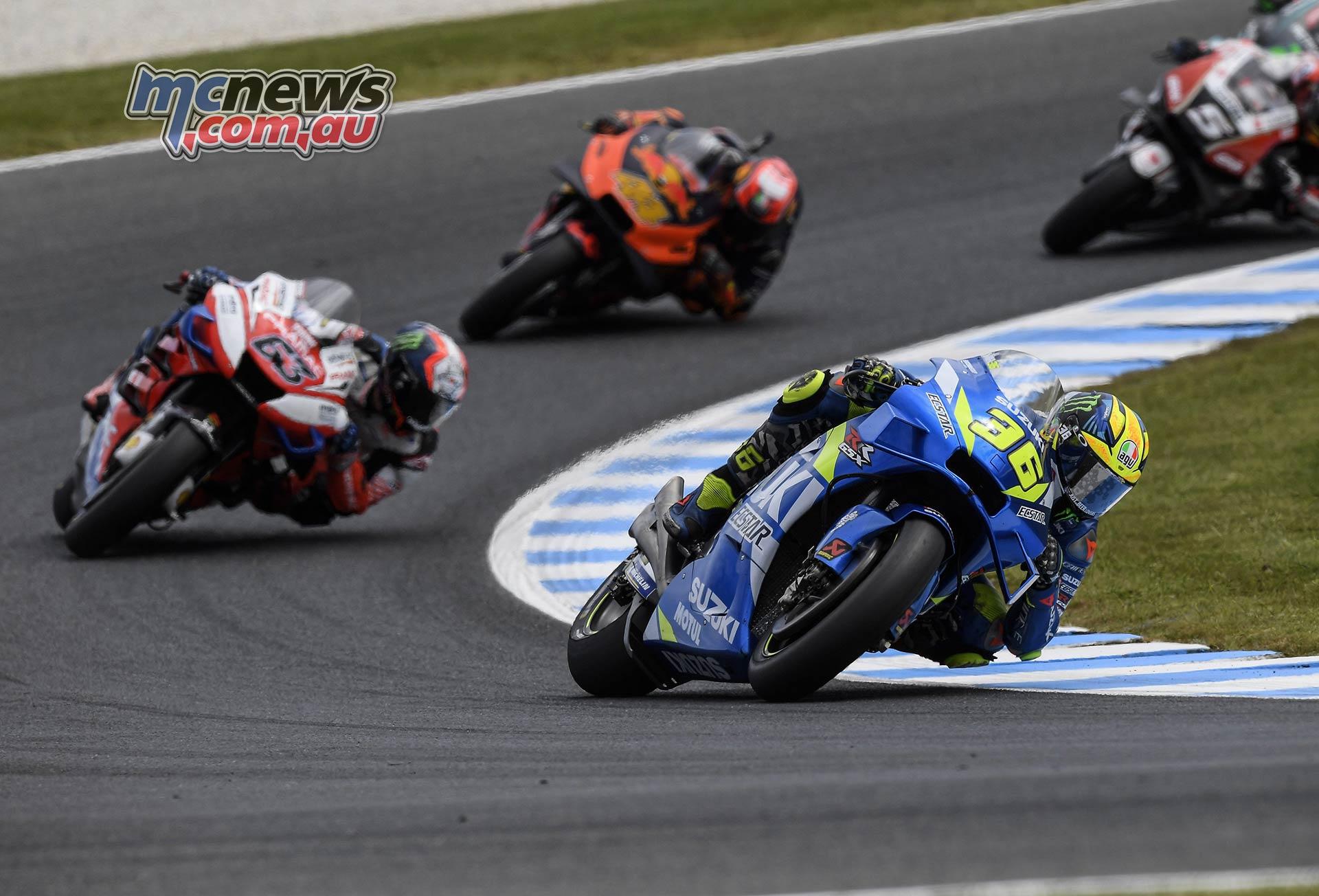 MotoGP Phillip Island Australia Race Mir Bagnaia