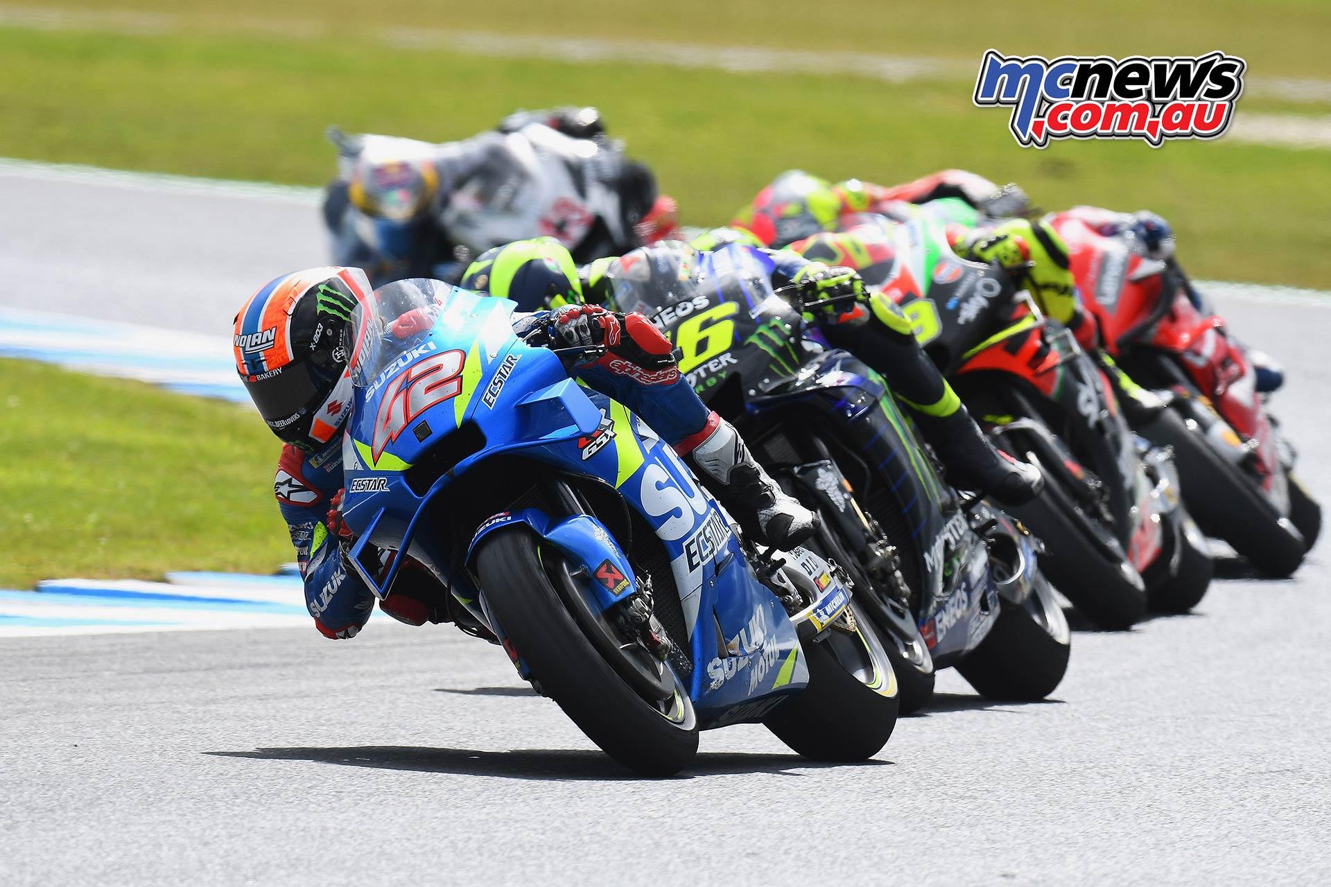 MotoGP Phillip Island Australia Race Rins Rossi