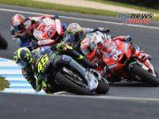 MotoGP Phillip Island Australia Race Rossi Dovi Miller Bagnaia