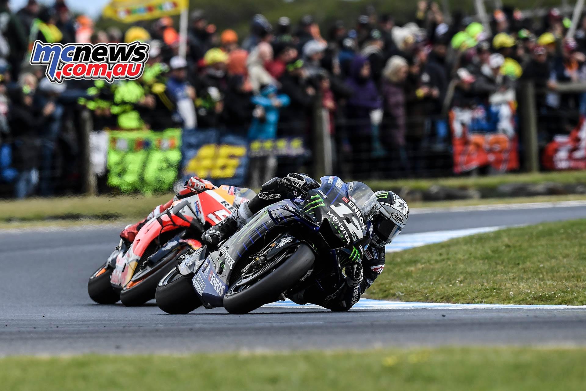 MotoGP Phillip Island Australia Race Vinales Marquez T