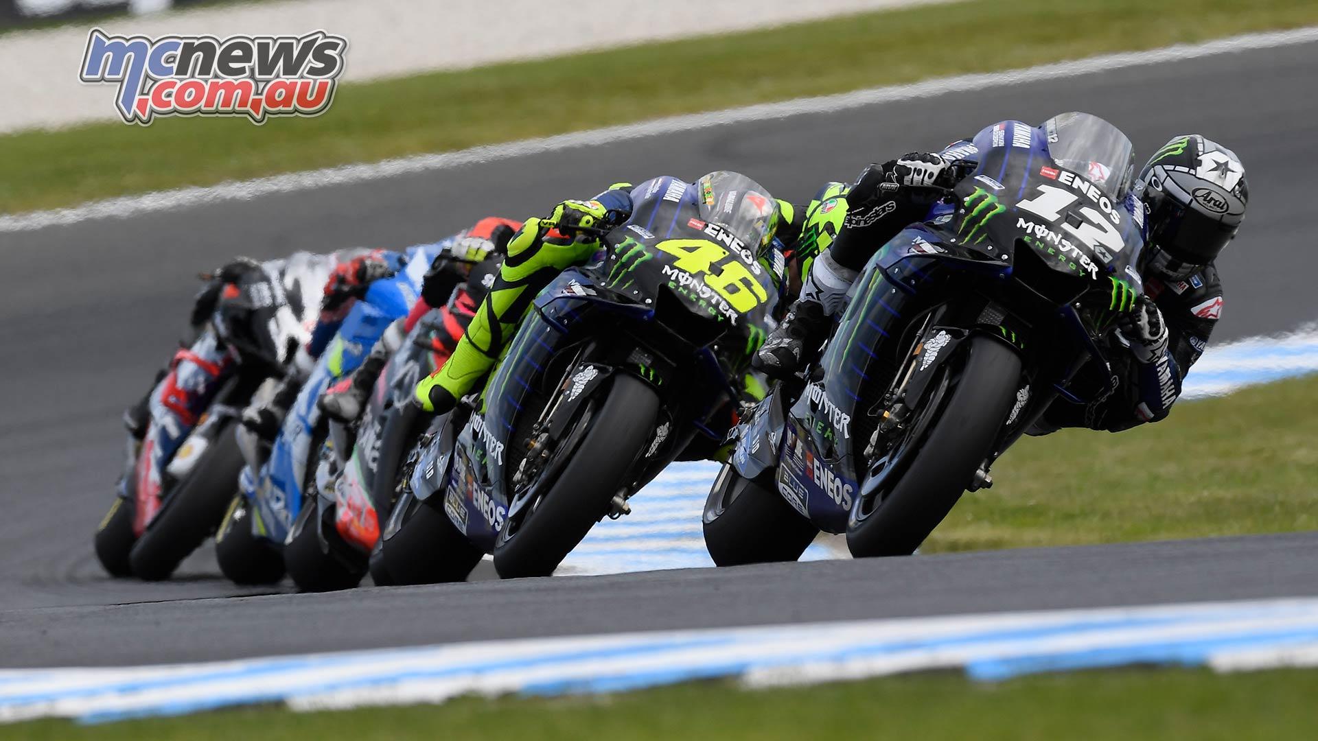 MotoGP Phillip Island Australia Race Vinales Rossi