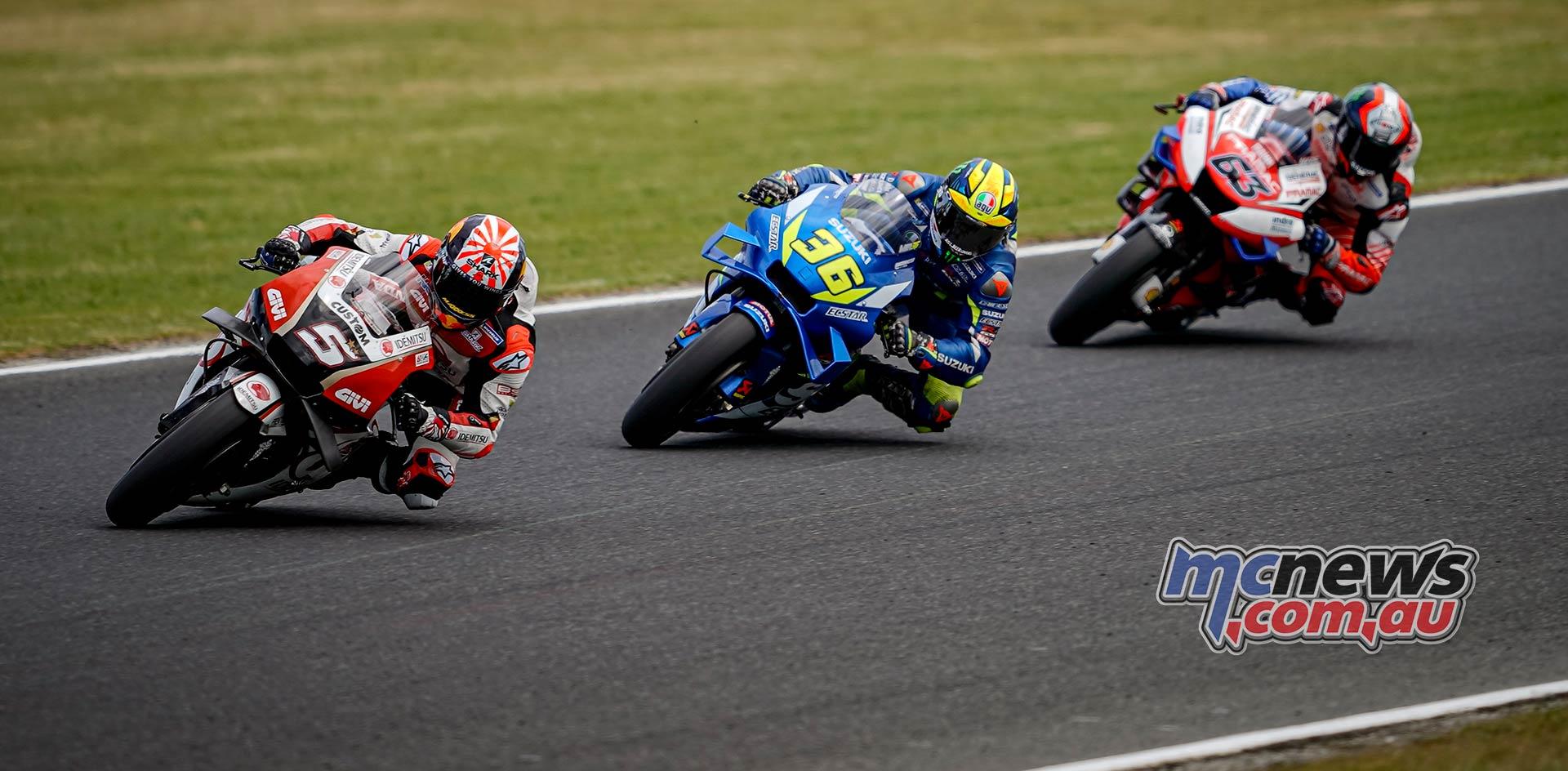MotoGP Phillip Island Australia Race Zarco Mir Bagnaia