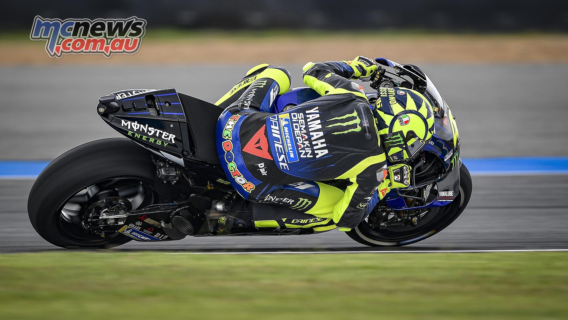 MotoGP Rnd Thailand Friday Rossi