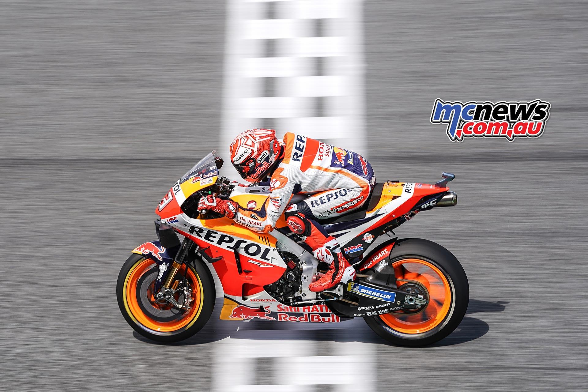 MotoGP Rnd Thailand QP Marquez