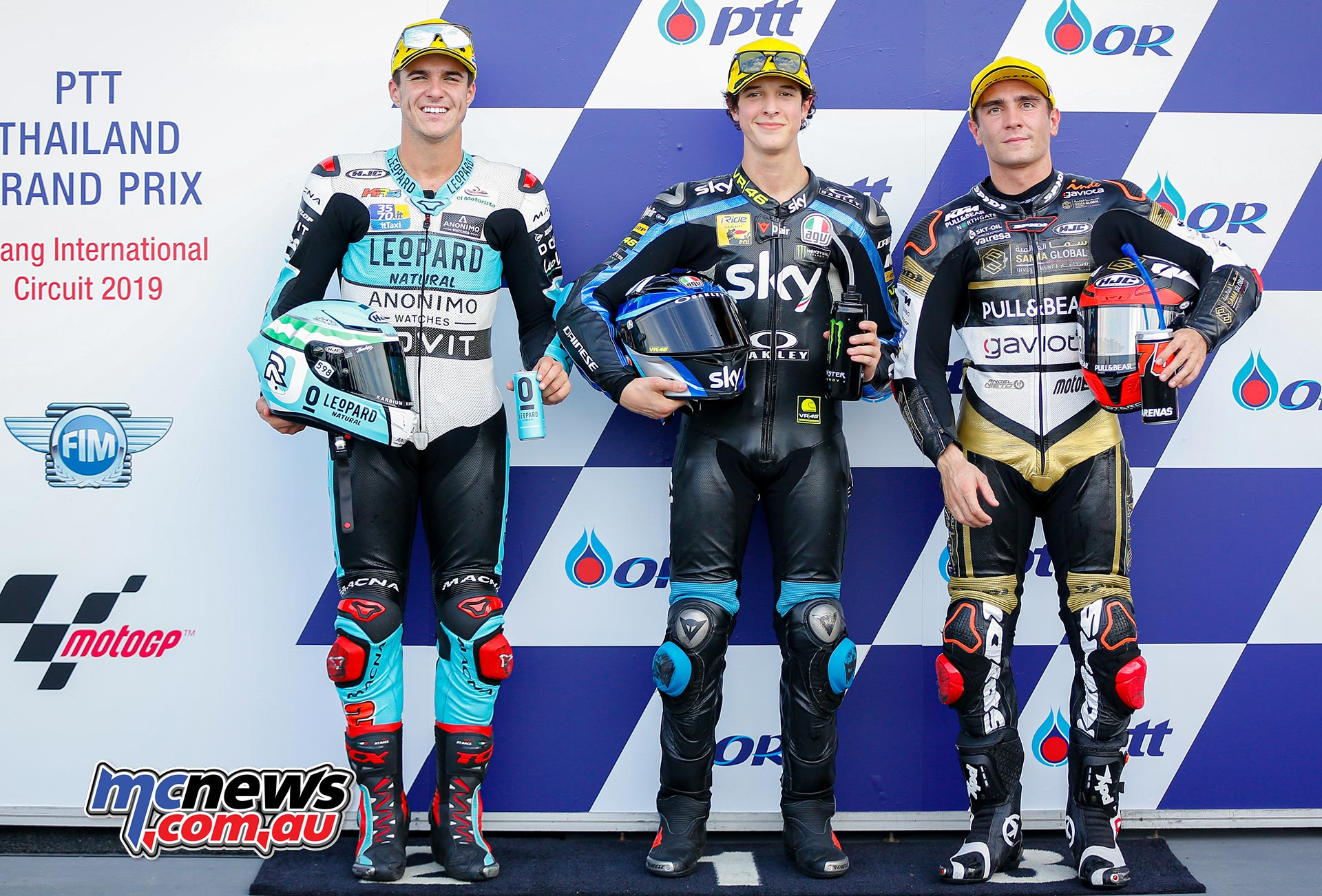 MotoGP Rnd Thailand QP Moto QP Ramirez Vietti Arenas