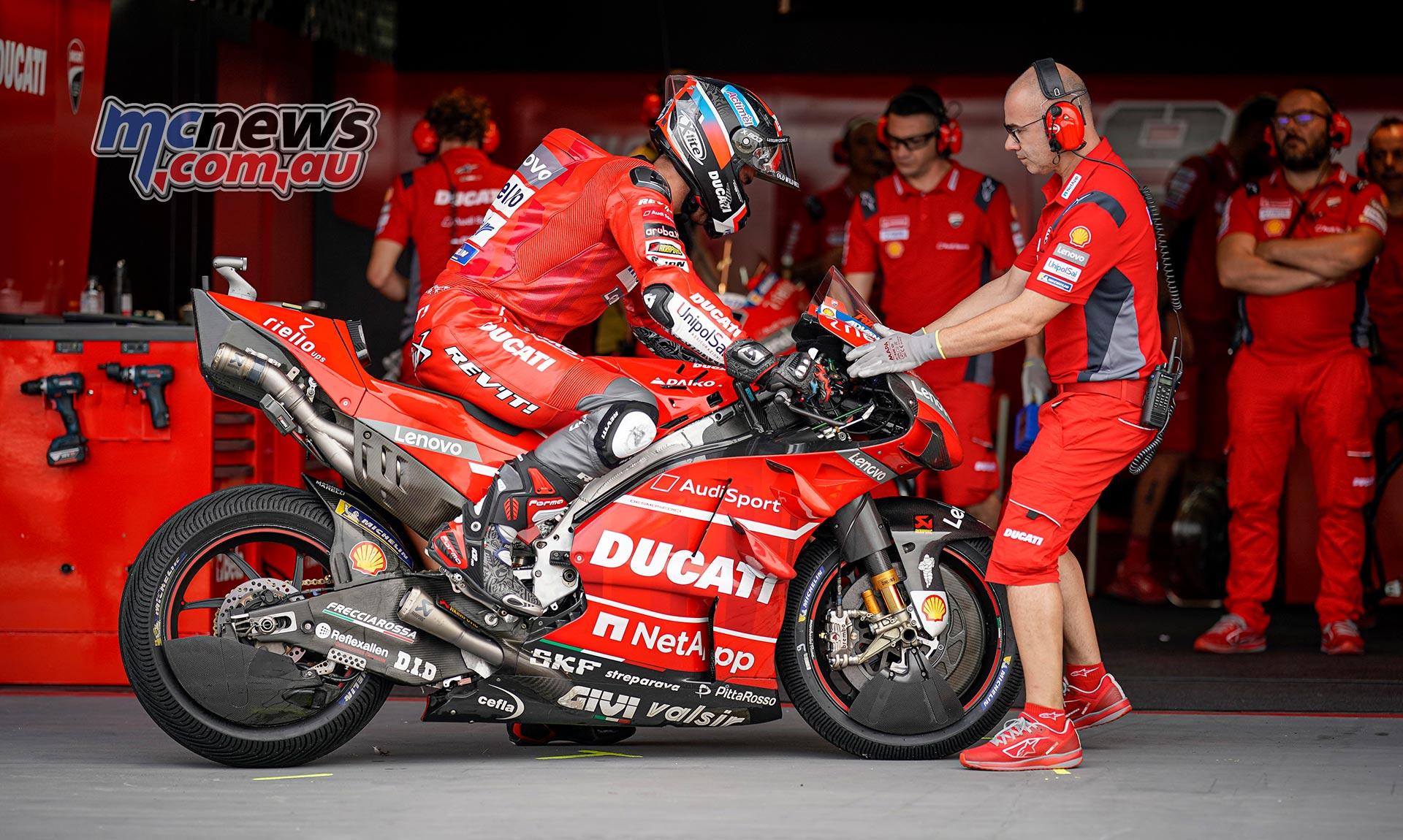 MotoGP Rnd Thailand QP Petrucci