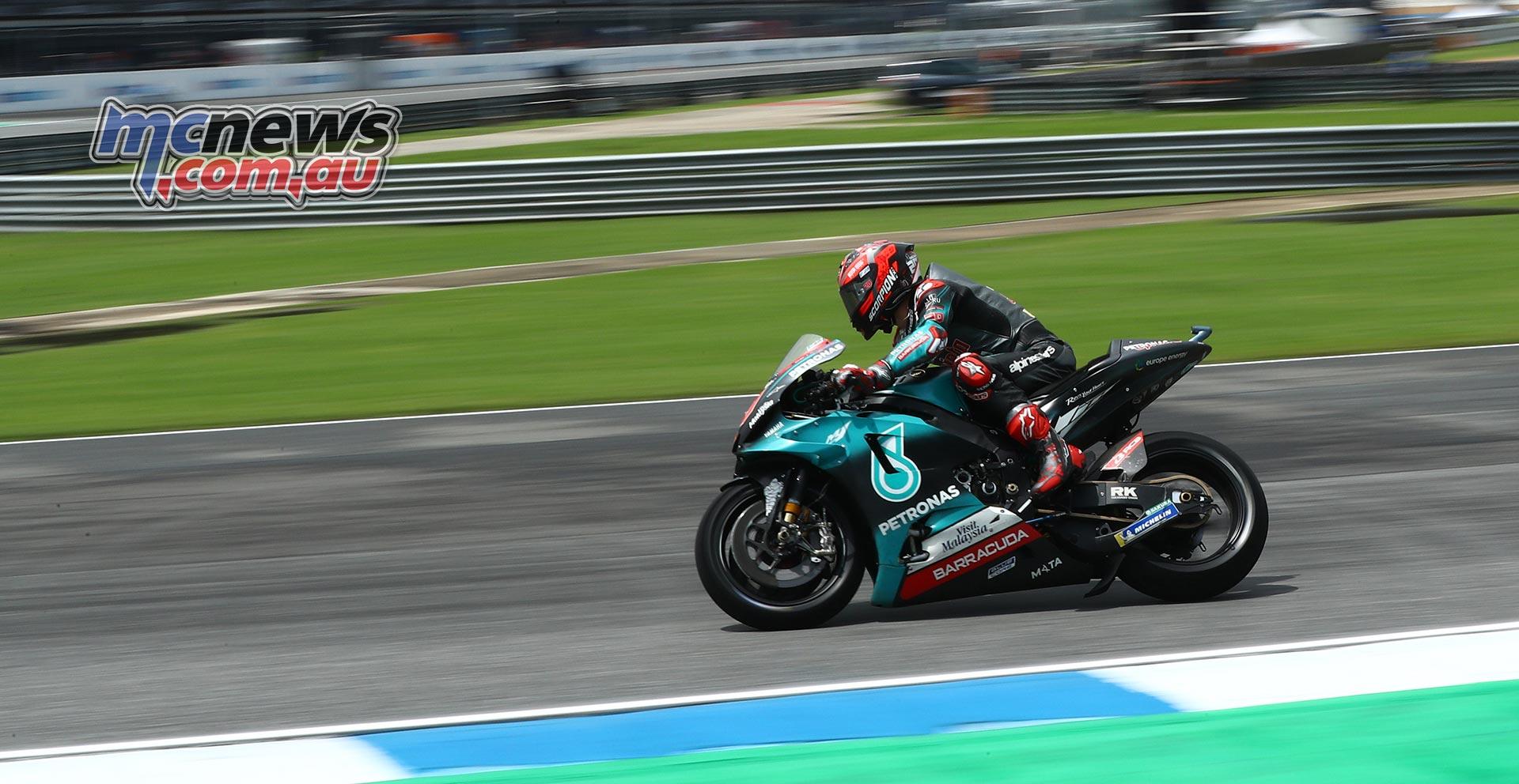 MotoGP Rnd Thailand QP Quartararo Brakes