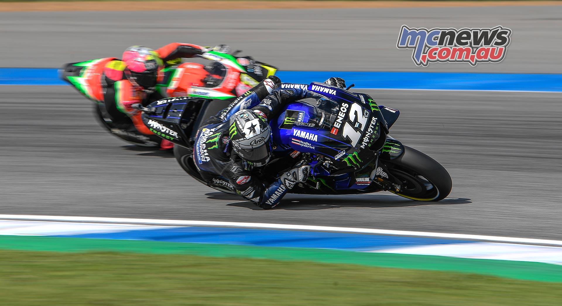 MotoGP Rnd Thailand QP Vinales