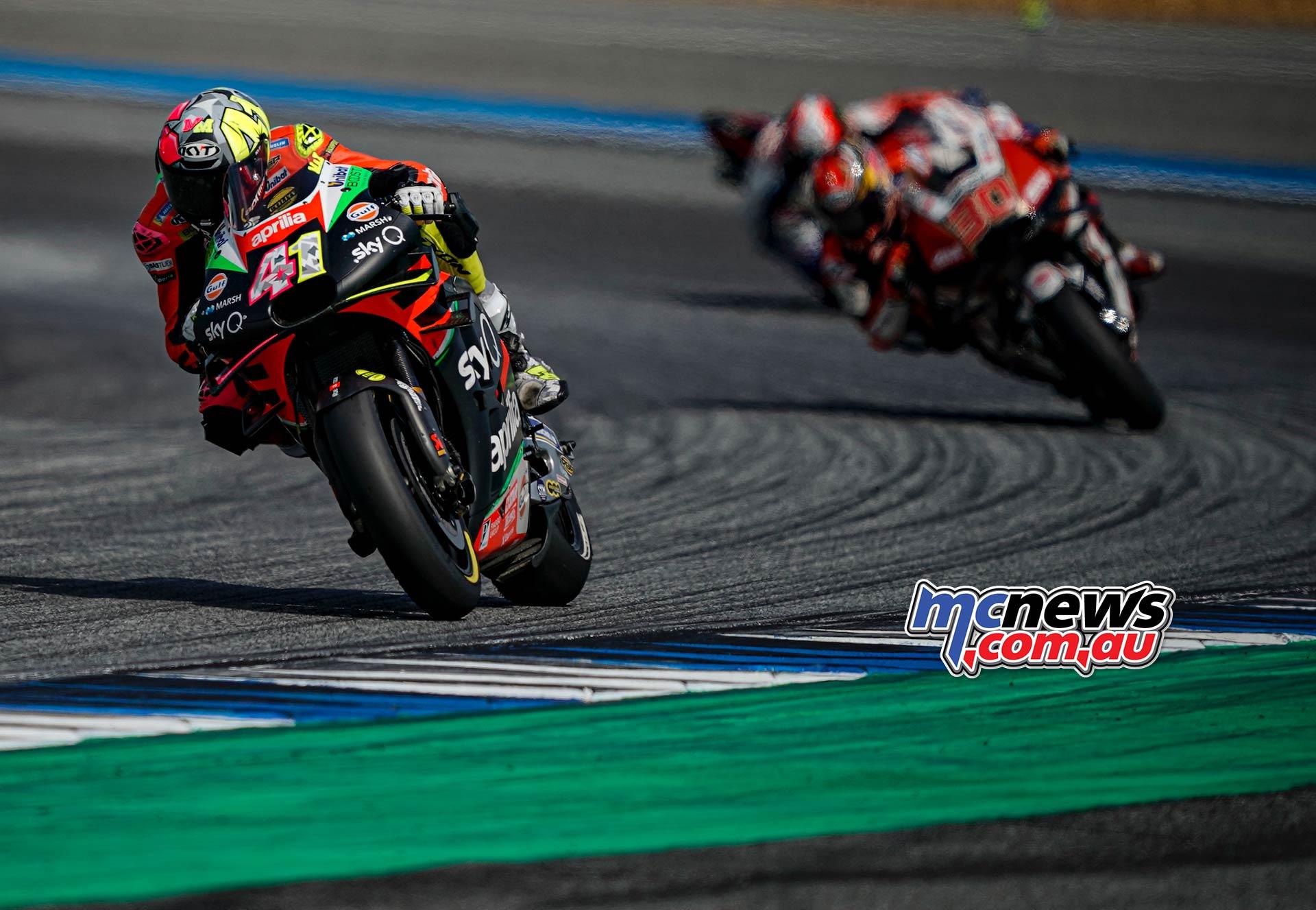 MotoGP Rnd Thailand Race Aleix Espargaro