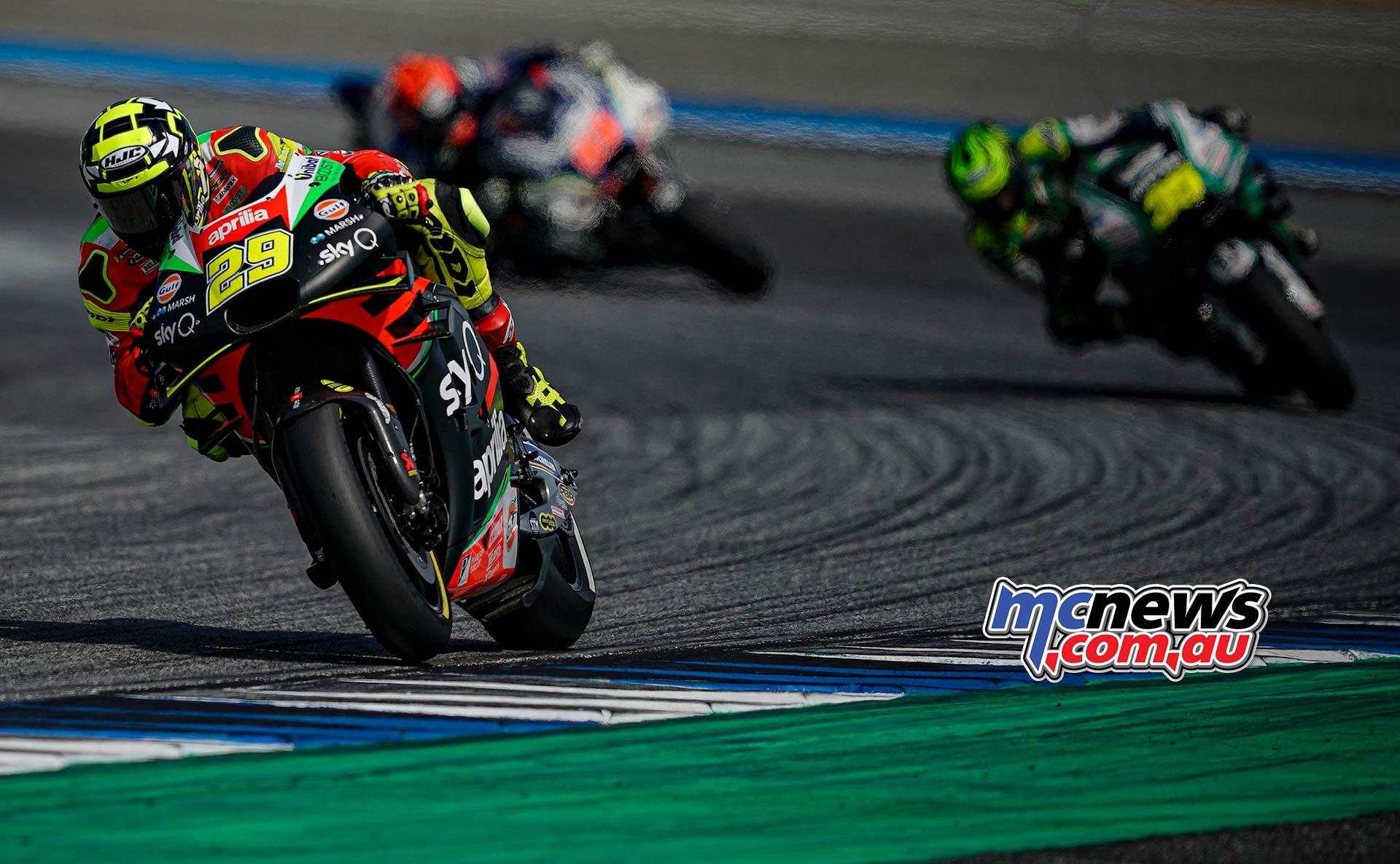 MotoGP Rnd Thailand Race Iannone