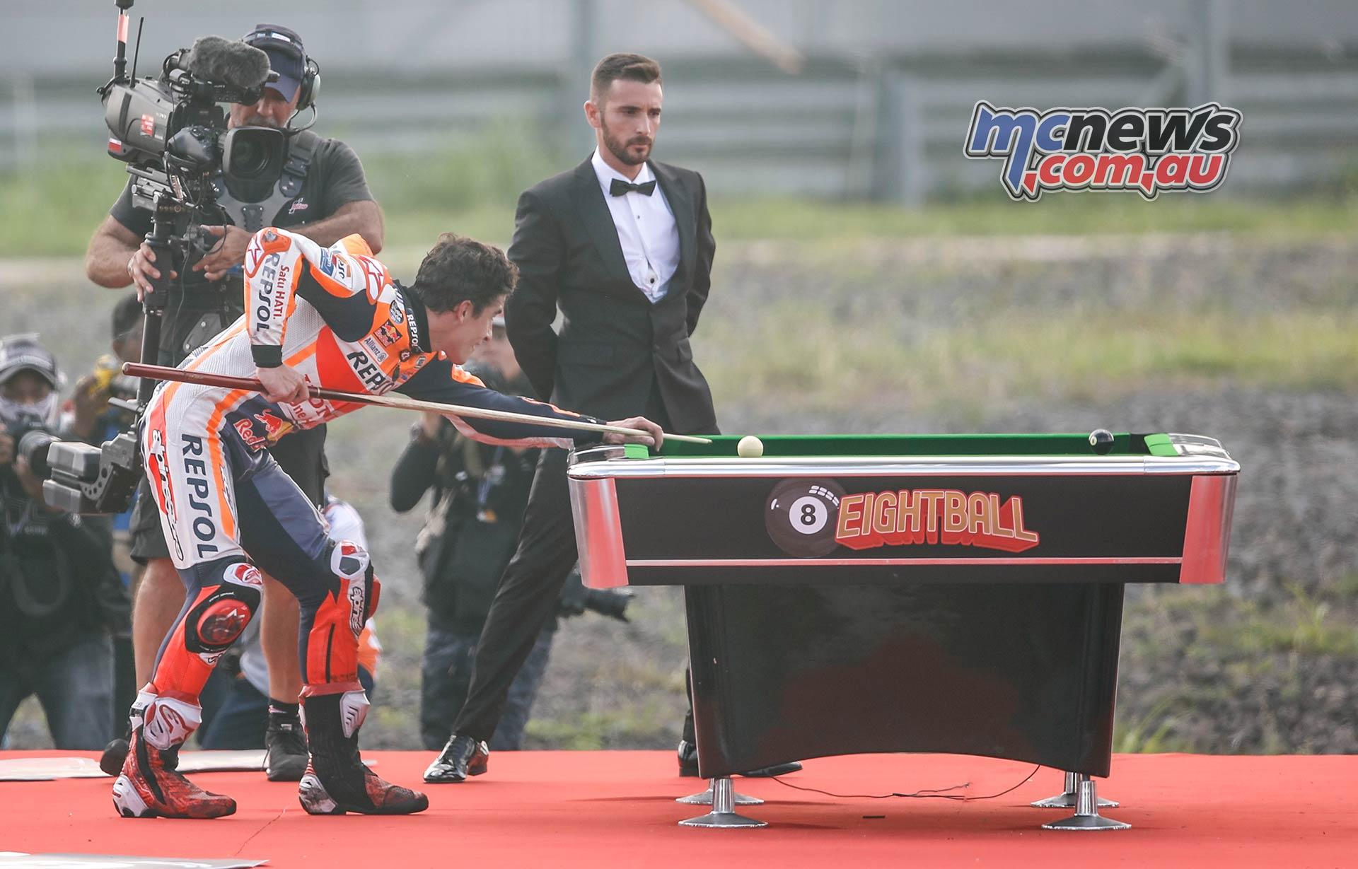 MotoGP Rnd Thailand Race Marquez ball Pot